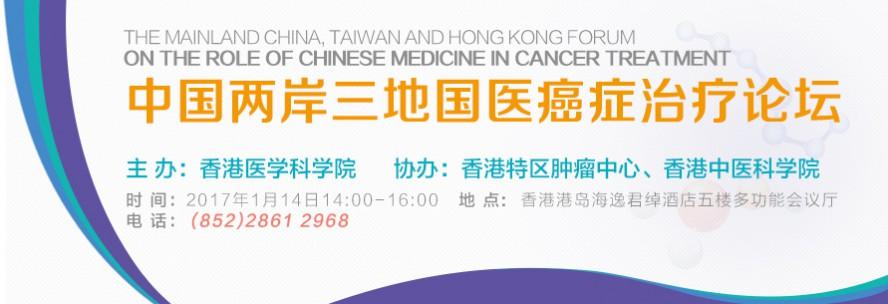 中国两岸三地国医癌症治疗论坛